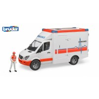 MERCEDES BENZ SPRİNTER AMBULANS VE EKİBİ BR02536